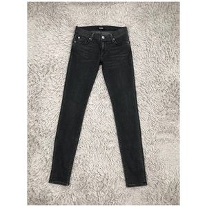 Hudson Krista Super Skinny Jeans Black 26 inches